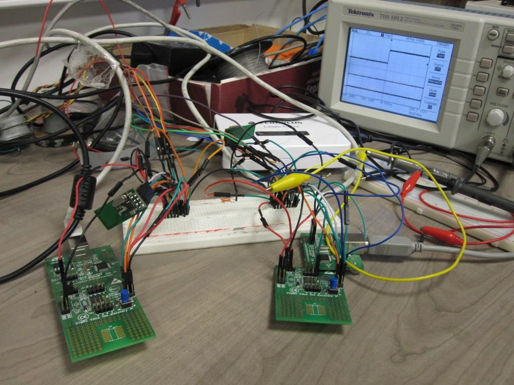 RF24L01 et STM8S